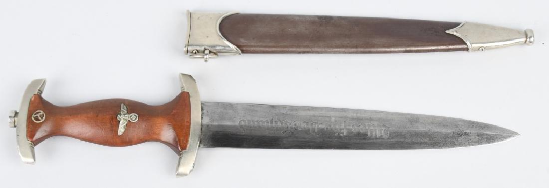 WWII NAZI GERMAN GROUND ROHM DAGGER & SCABBARD
