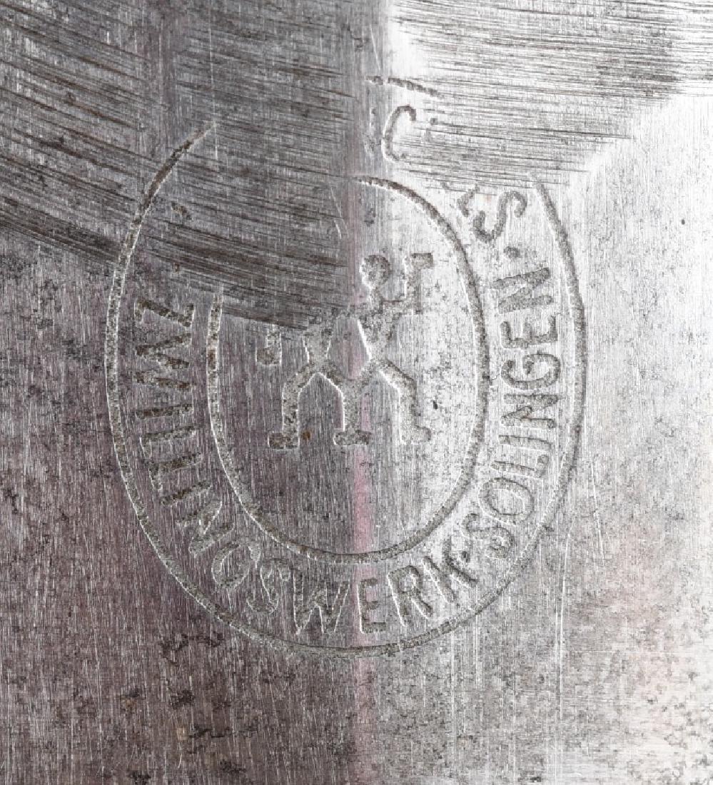 WWII NAZI GERMAN GROUND ROHM DAGGER & SCABBARD - 6
