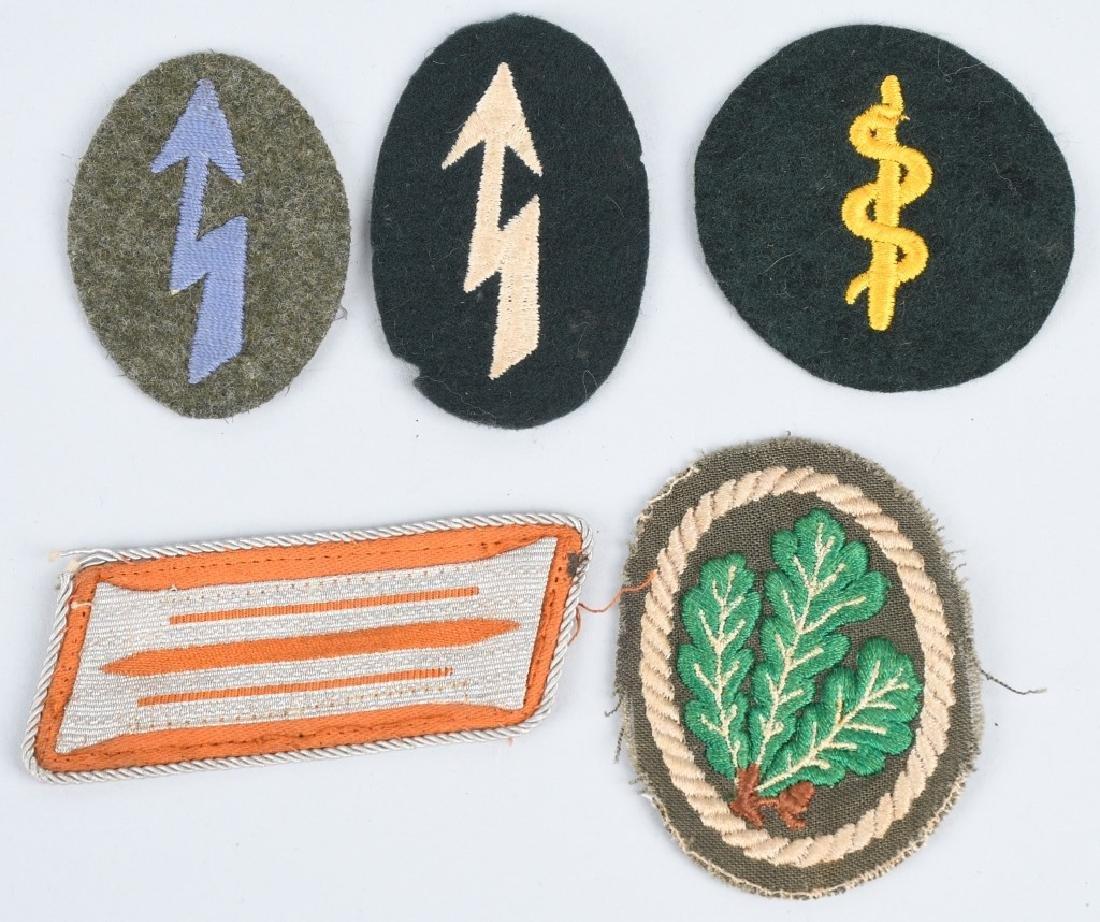 WWII NAZI GERMAN PLAQUE & MISC INSIGNIA - 2