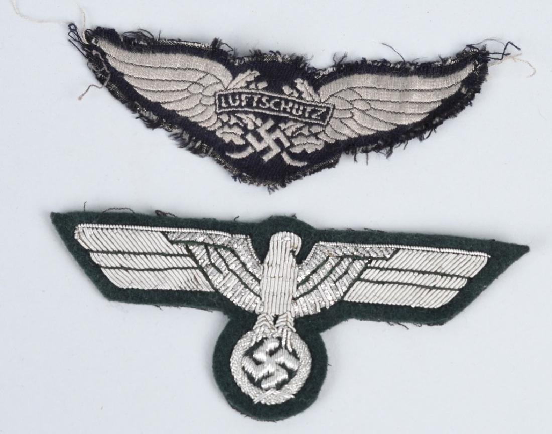 WWII NAZI GERMAN PLAQUE & MISC INSIGNIA - 6