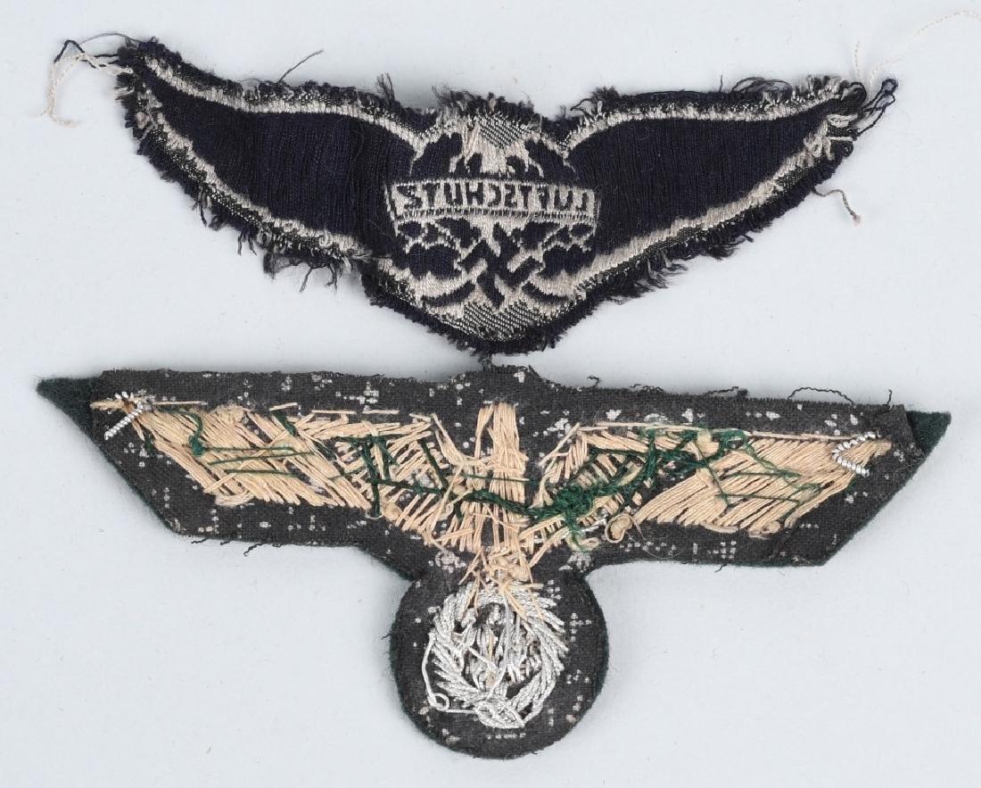 WWII NAZI GERMAN PLAQUE & MISC INSIGNIA - 7