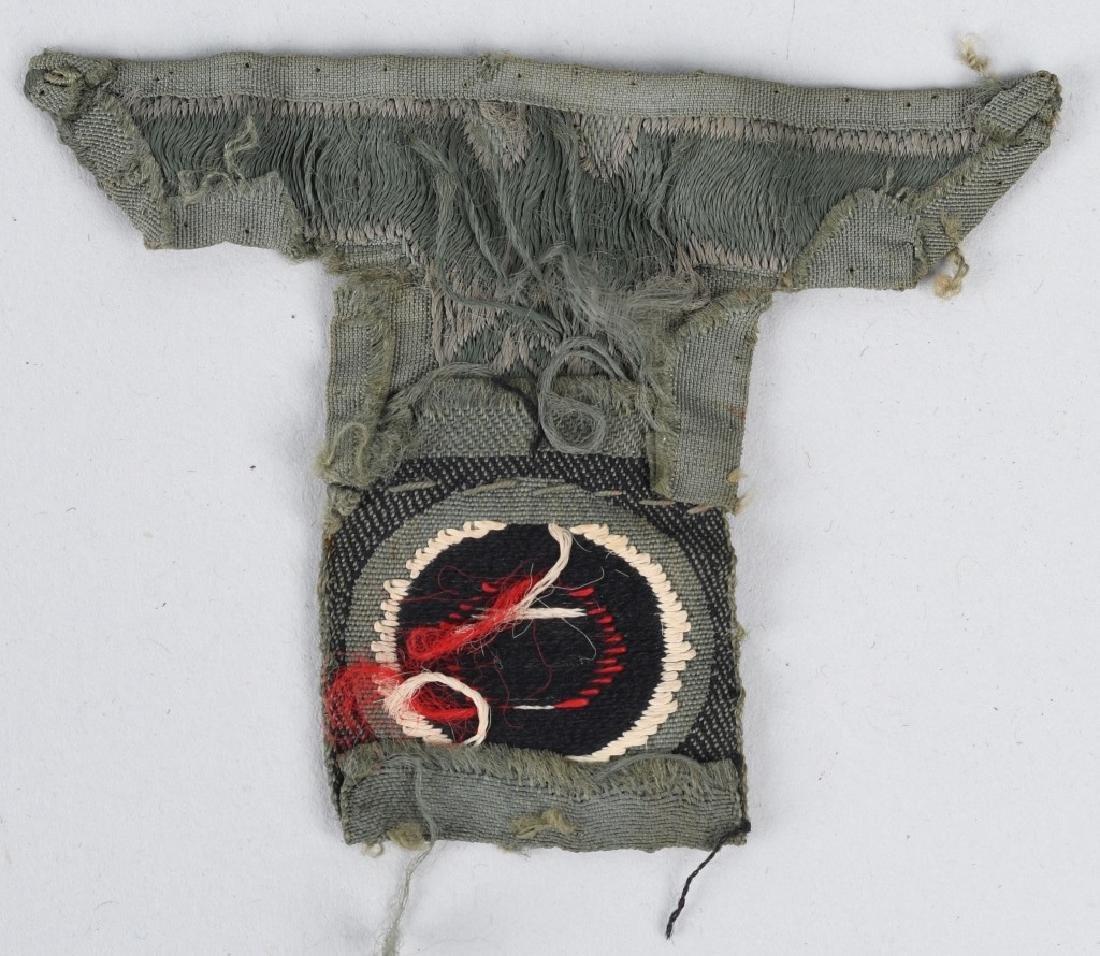 WWII NAZI GERMAN PLAQUE & MISC INSIGNIA - 9