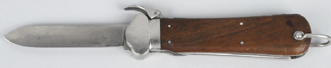 WWII NAZI GERMAN PARATROOPER GRAVITY KNIFE