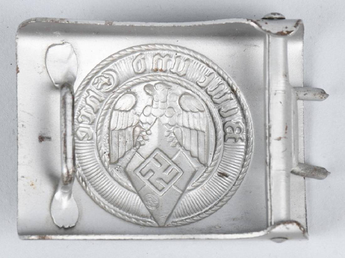 WWII NAZI GERMAN HITLER YOUTH BELT BUCKLE LOT - 3