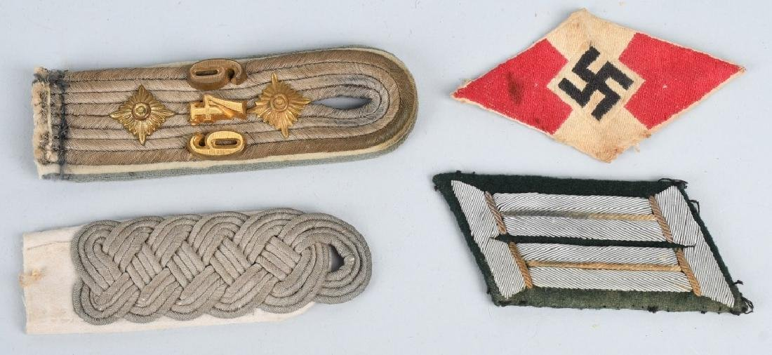 WWII NAZI GERMAN FLAG MEDAL AND INSIGNIA LOT - 7