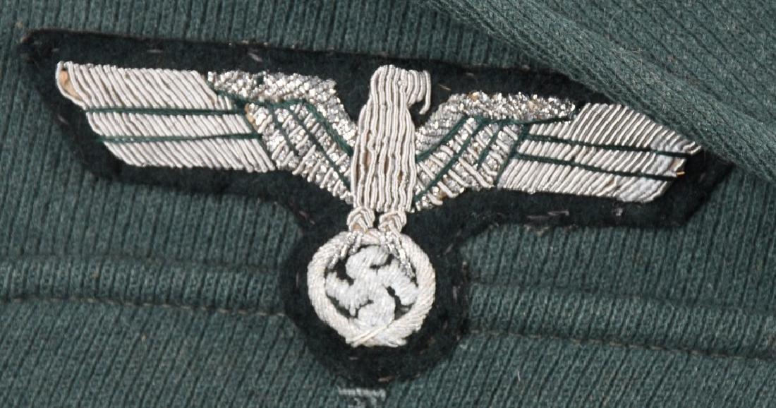 WWII NAZI GERMAN M36 TUNIC M 36 -IDED - 2
