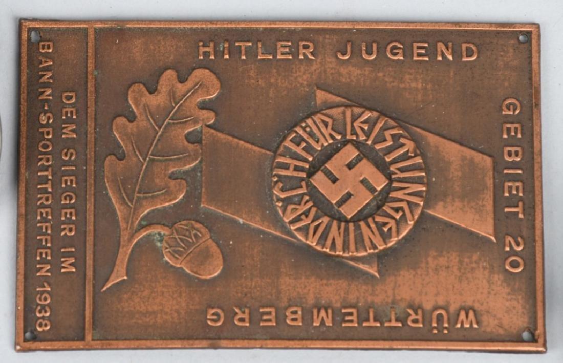 WWII NAZI GERMAN TINNIE LOT & MISCELLANEOUS - 3