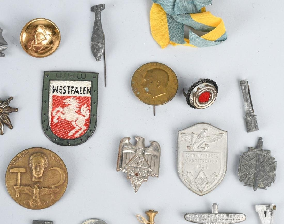 WWII NAZI GERMAN TINNIE LOT & MISCELLANEOUS - 4
