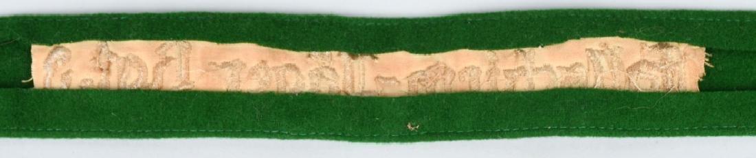 WWII GERMAN FALLSCHIRMJAGER RGT 3 CUFF TITLE - 4