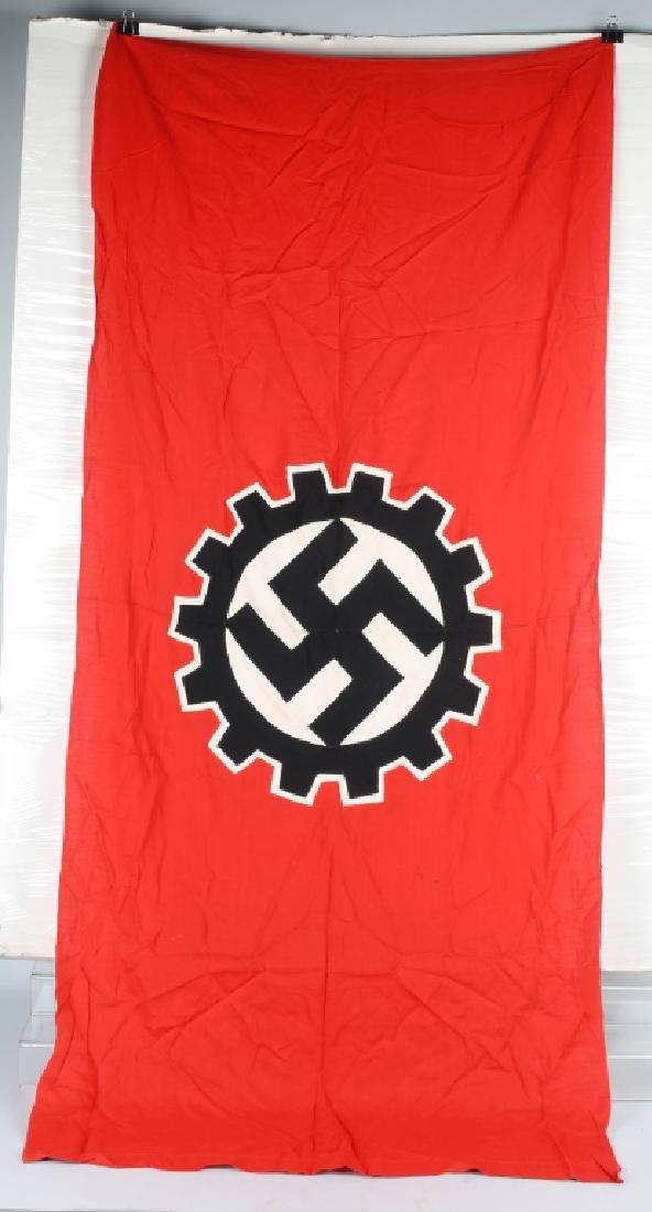 WWII NAZI GERMAN DAF FLAG
