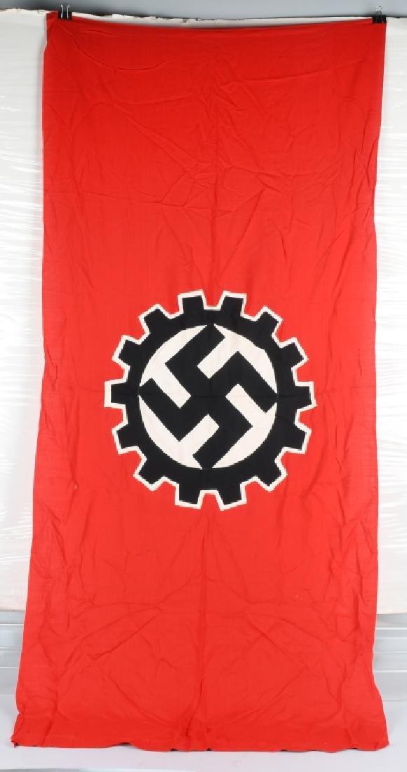 WWII NAZI GERMAN DAF FLAG - 5