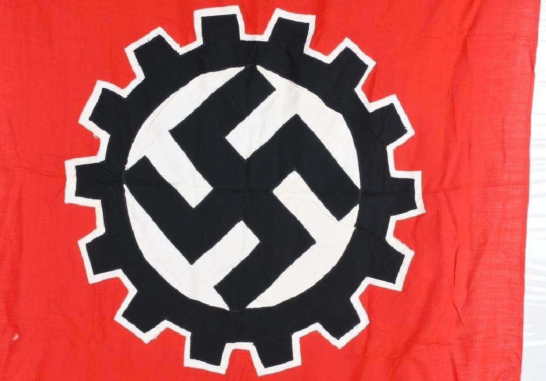 WWII NAZI GERMAN DAF FLAG - 7
