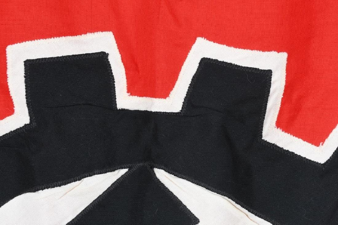 WWII NAZI GERMAN DAF FLAG - 8
