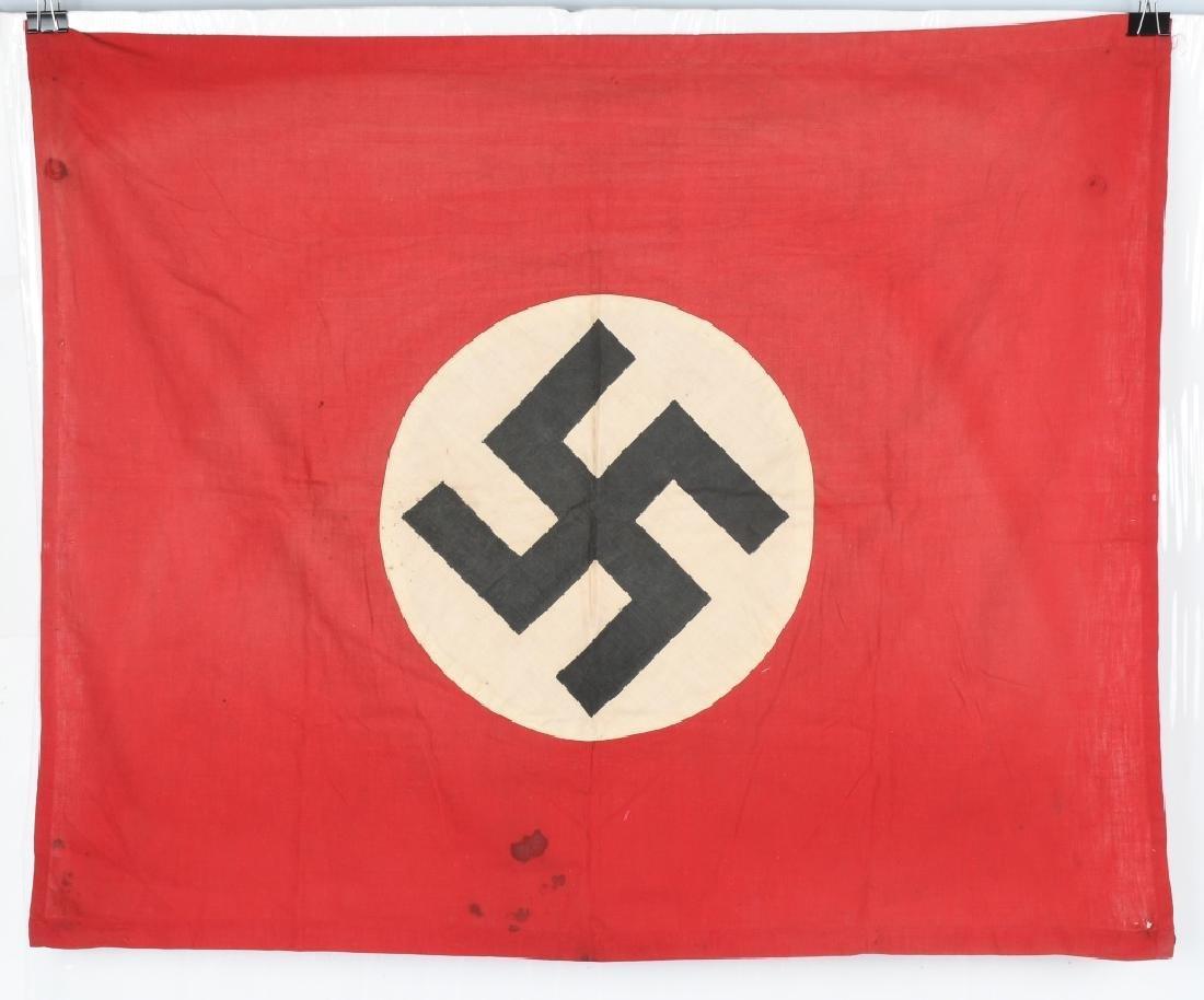 WWII NAZI GERMAN NSDAP BANNER - FLAG LOT - 2