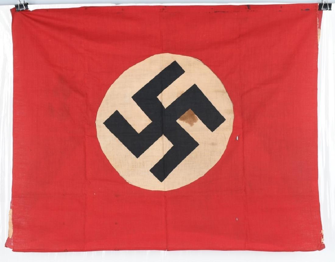 WWII NAZI GERMAN NSDAP BANNER - FLAG LOT - 6
