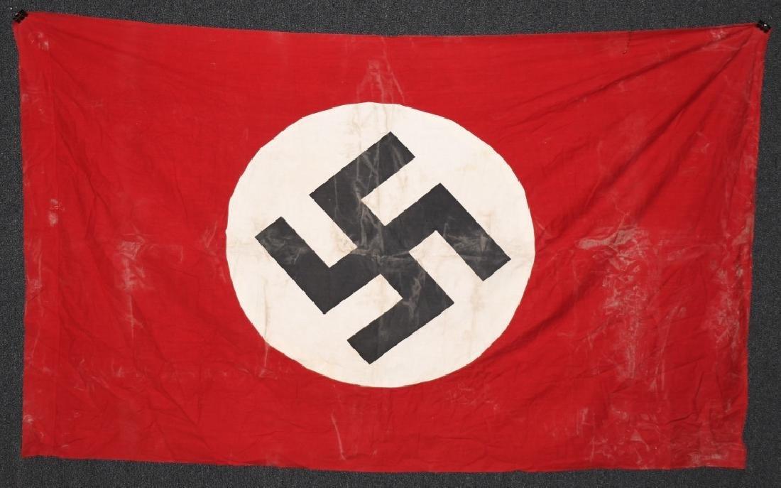 WWII NAZI GERMAN NSDAP BANNER FLAG