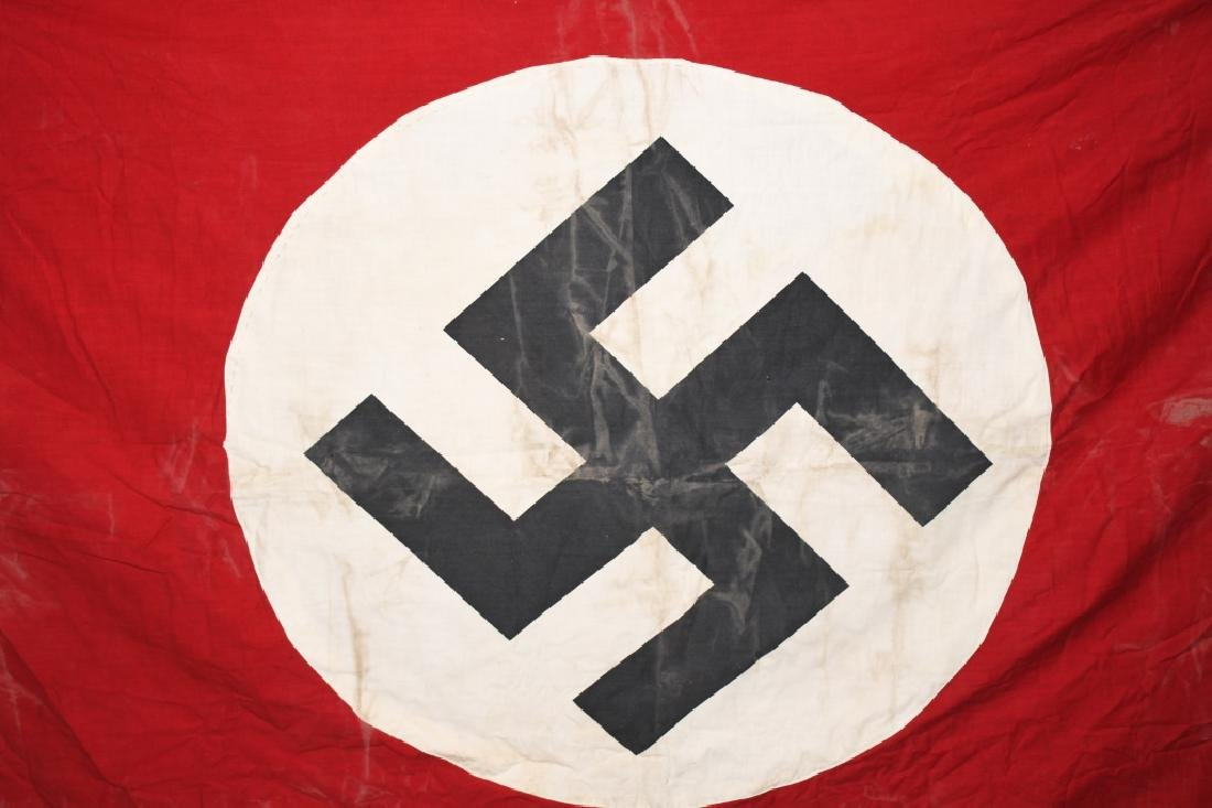 WWII NAZI GERMAN NSDAP BANNER FLAG - 2