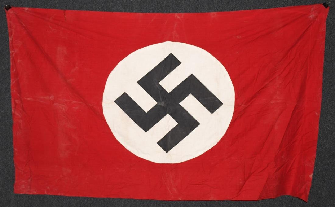 WWII NAZI GERMAN NSDAP BANNER FLAG - 5