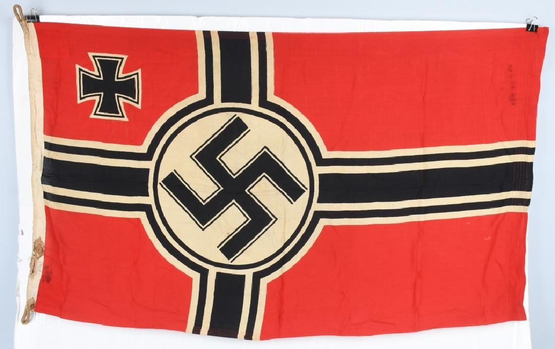 WWII NAZI GERMAN KRIEGSMARINE FLAG