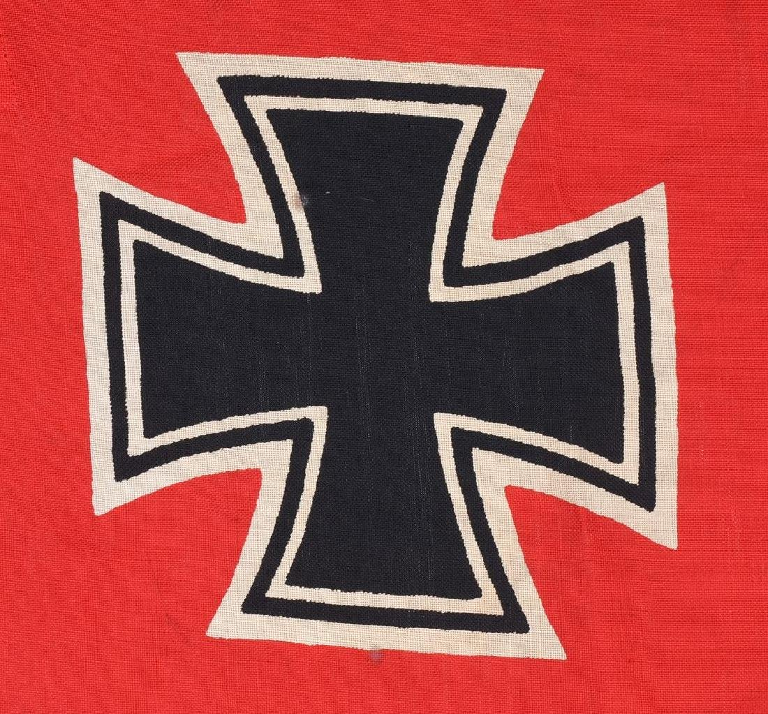 WWII NAZI GERMAN KRIEGSMARINE FLAG - 2