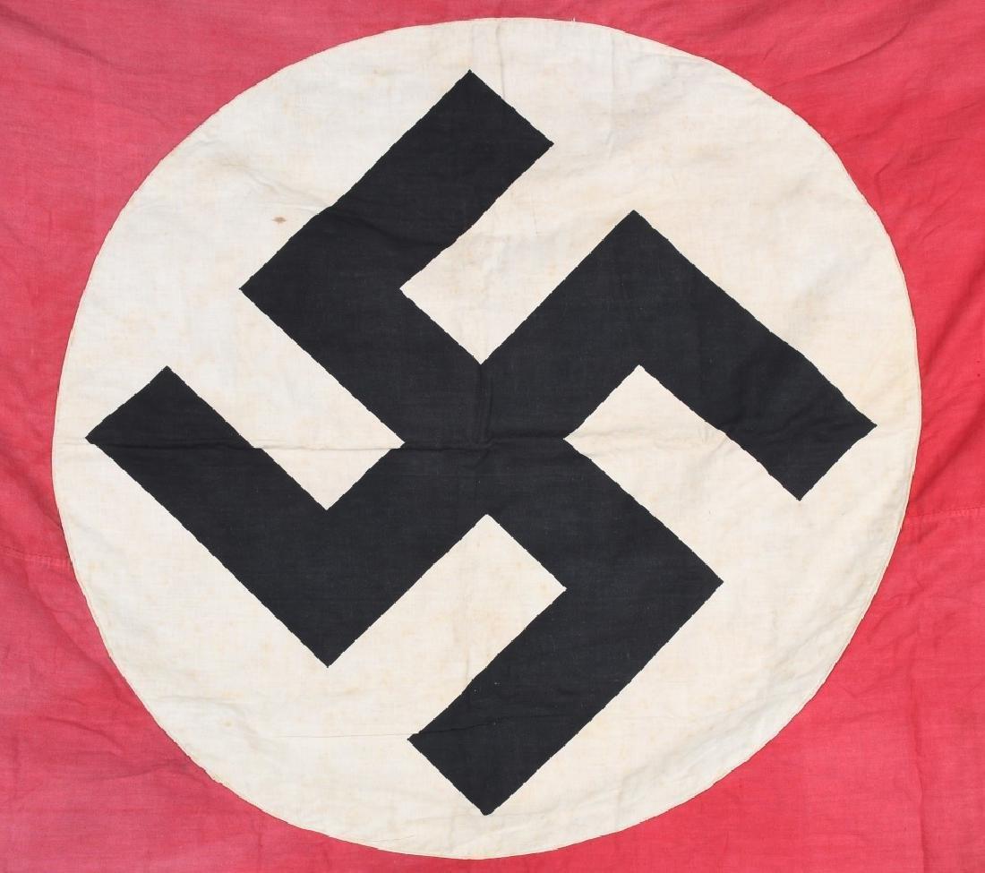 WWII NAZI GERMAN NSDAP FLAG BANNER - 2
