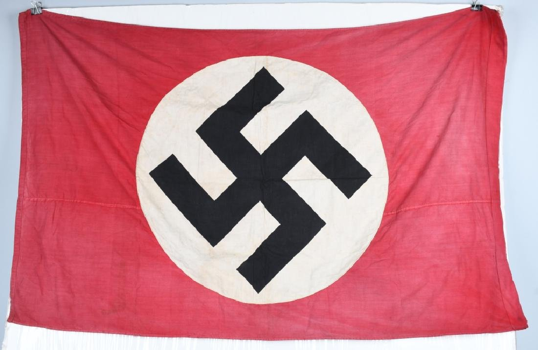 WWII NAZI GERMAN NSDAP FLAG BANNER - 4