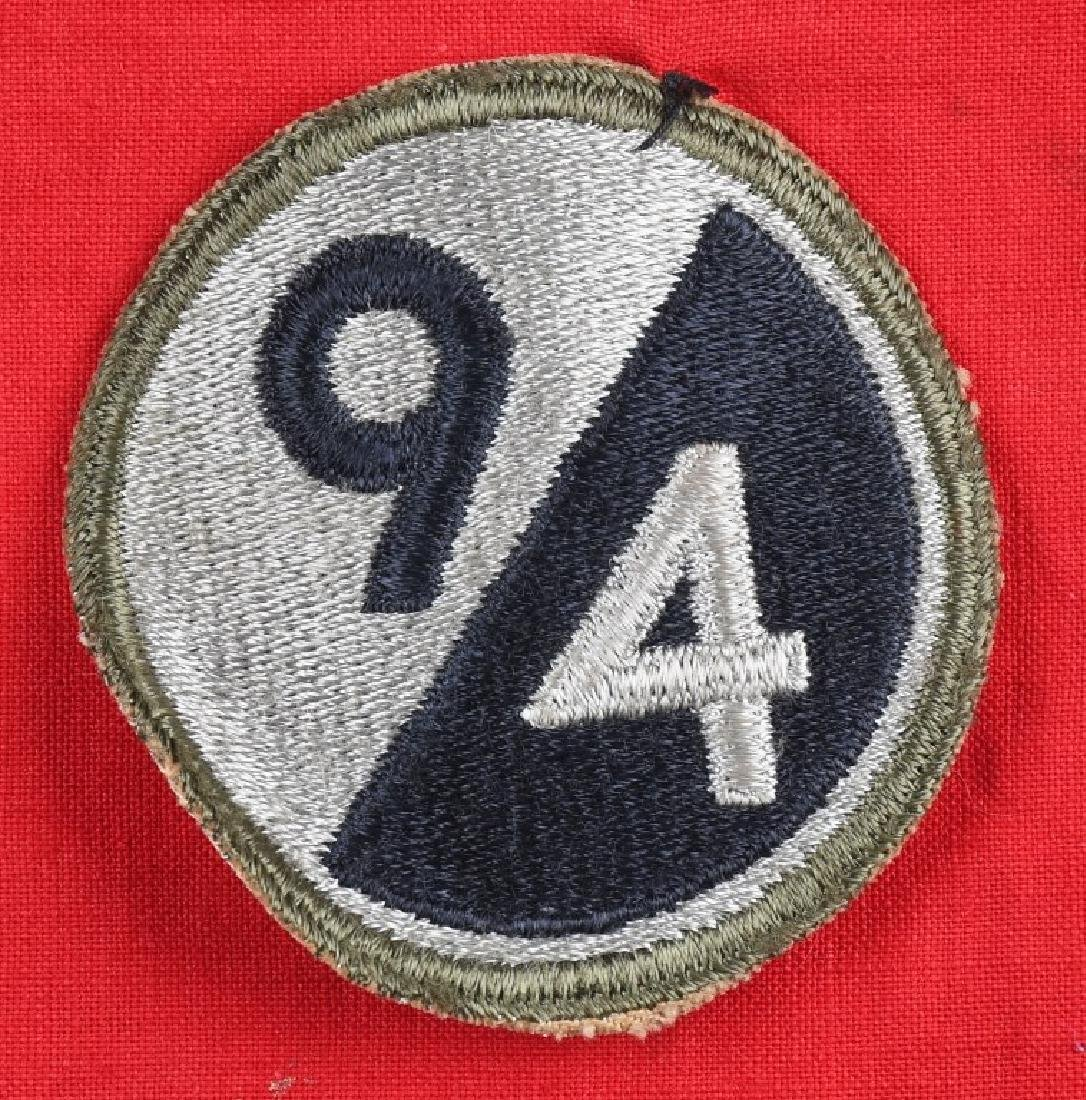 WWII NAZI GERMAN FLAG CAPTURED BY 94TH DIVISION GI - 2