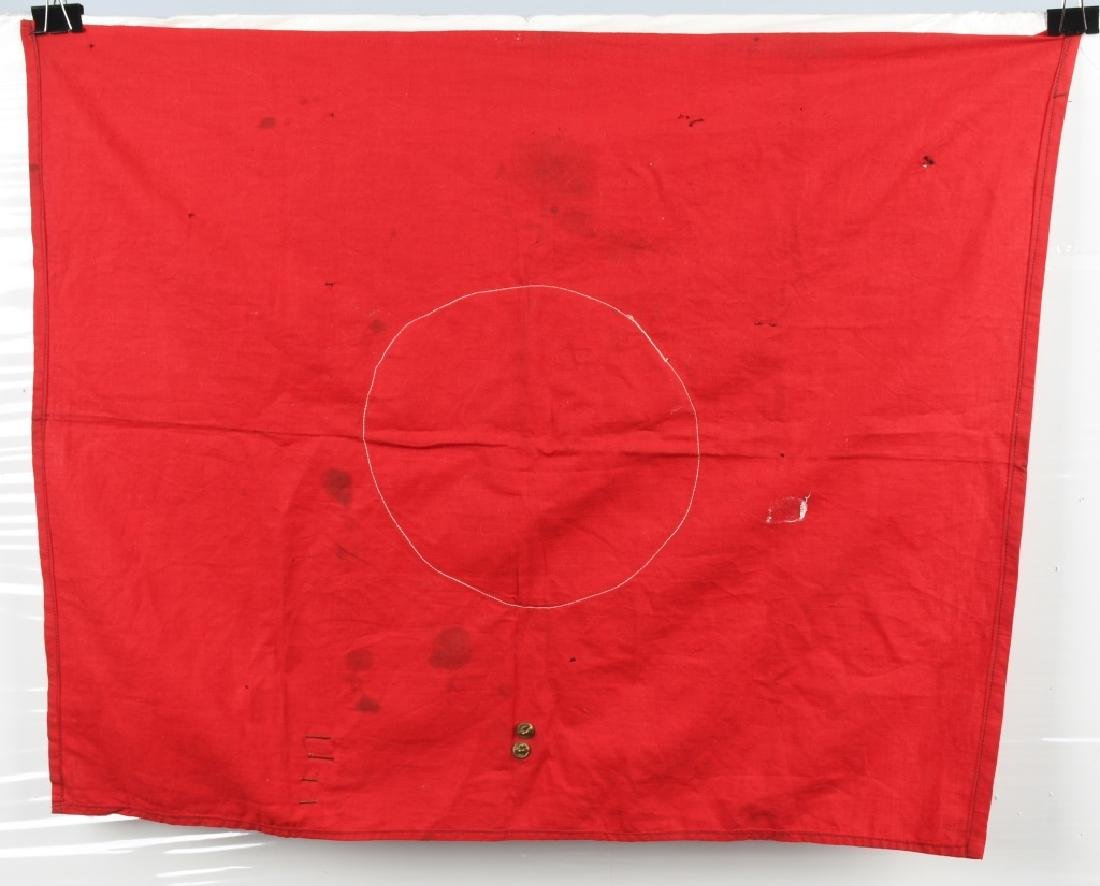 WWII NAZI GERMAN FLAG CAPTURED BY 94TH DIVISION GI - 8