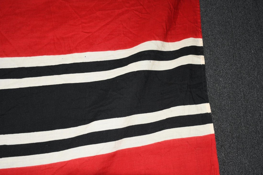 WWII NAZI GERMAN WOOL KRIEGSMARINE FLAG - 4