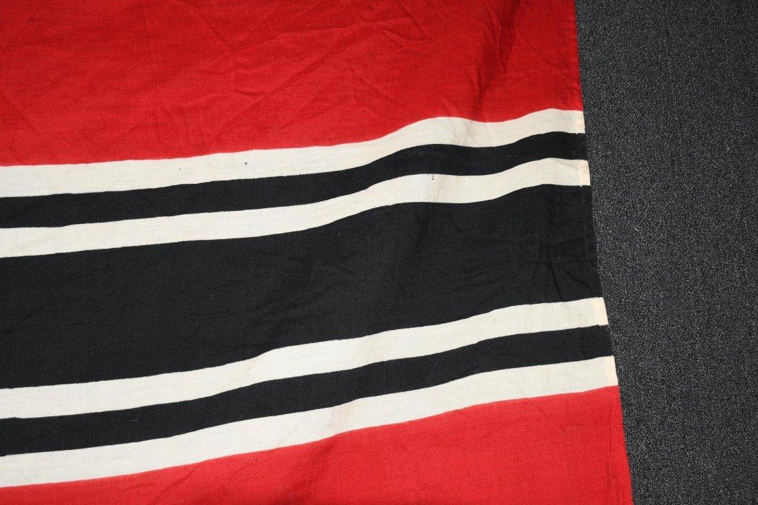 WWII NAZI GERMAN WOOL KRIEGSMARINE FLAG - 4