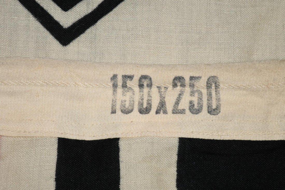 WWII NAZI GERMAN WOOL KRIEGSMARINE FLAG - 7