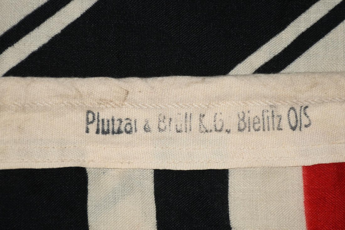 WWII NAZI GERMAN WOOL KRIEGSMARINE FLAG - 8
