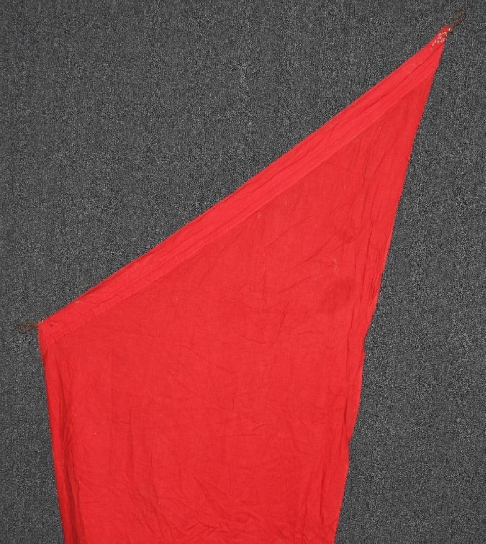 WWII NAZI GERMAN BANNER WITH ANGLED SIDE - 3