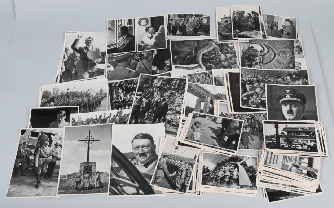 WWII NAZI GERMAN ADOLPH HITLER CIG. PHOTO SETS