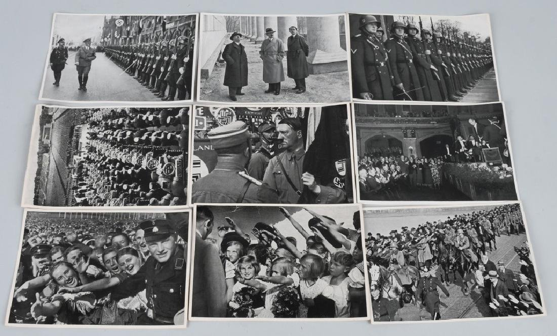 WWII NAZI GERMAN ADOLPH HITLER CIG. PHOTO SETS - 4