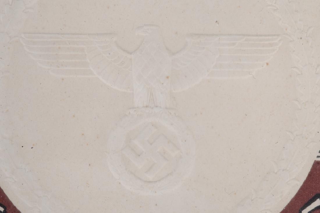 WWII NAZI GERMAN 50TH WEDDING ANNIVERSERY DOC. - 5