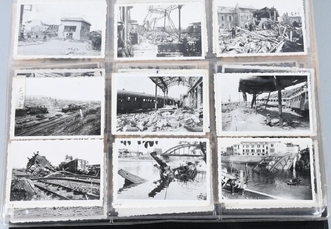 WWII NAZI GERMAN PHOTOGRAPH LOT - 480 PHOTOS - 10