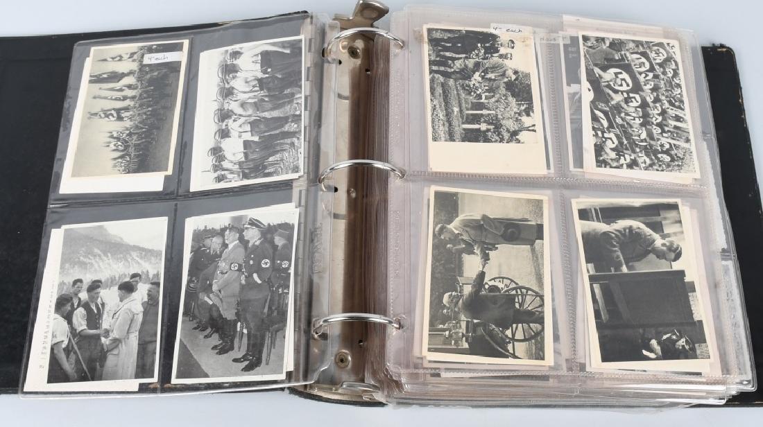 WWII NAZI GERMAN PHOTOGRAPH LOT - 480 PHOTOS