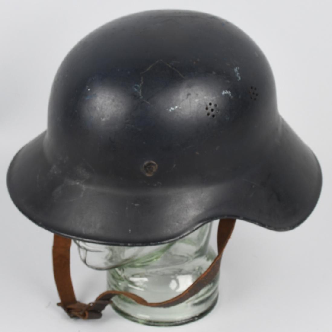 WWII NAZI GERMAN RLB LUFTSCHUTZ GLADIATOR HELMET