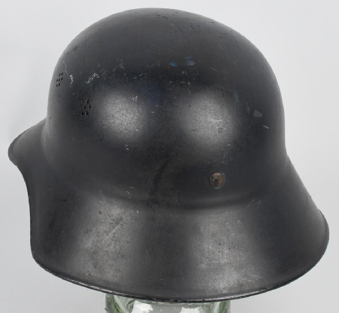 WWII NAZI GERMAN RLB LUFTSCHUTZ GLADIATOR HELMET - 2