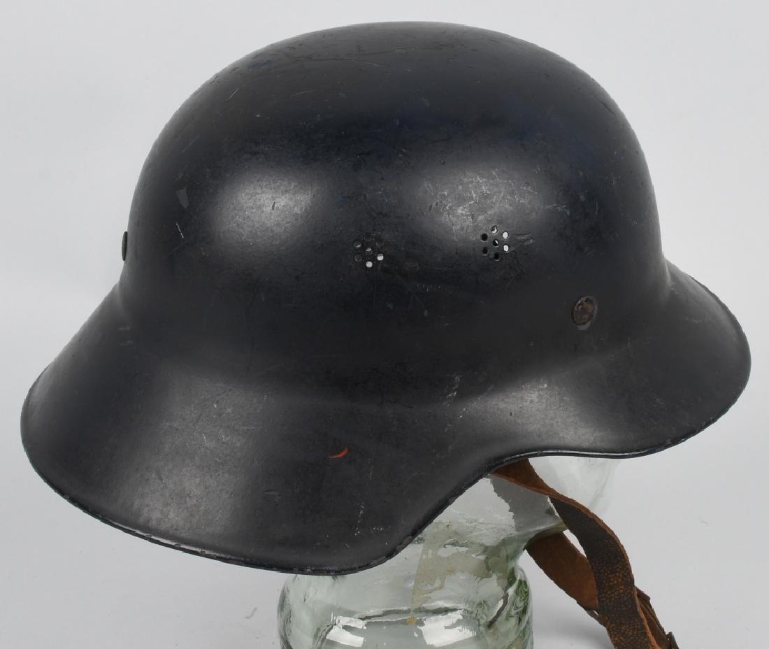WWII NAZI GERMAN RLB LUFTSCHUTZ GLADIATOR HELMET - 3