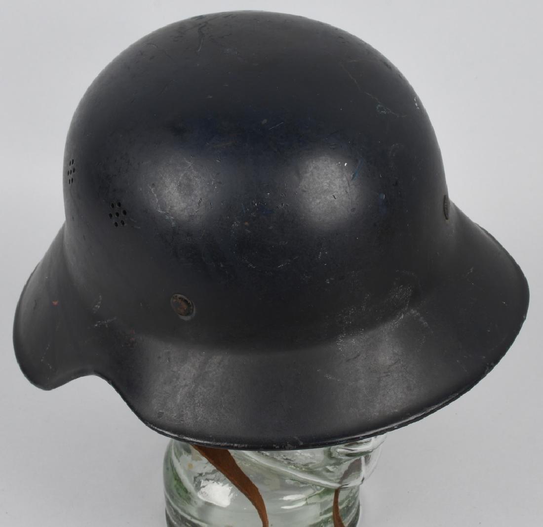 WWII NAZI GERMAN RLB LUFTSCHUTZ GLADIATOR HELMET - 4