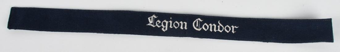 WWII NAZI GERMAN LUFTWAFFE LEGION CONDOR CUFFTITLE