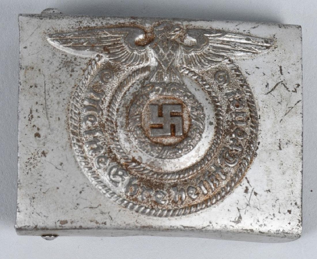 WWII NAZI GERMAN SS EM - NCO BELT BUCKLE