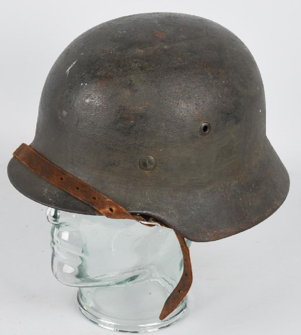 WWII NAZI GERMAN LUFTWAFFE M35 CAMO HELMET