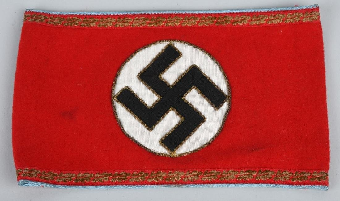WWII NAZI GERMAN ARMBAND LOT - NSDAP & ORTS - 2