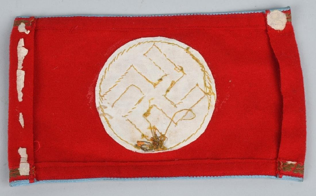 WWII NAZI GERMAN ARMBAND LOT - NSDAP & ORTS - 3