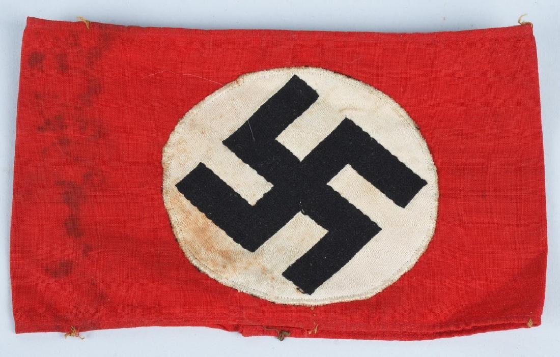 WWII NAZI GERMAN ARMBAND LOT - NSDAP & ORTS - 5