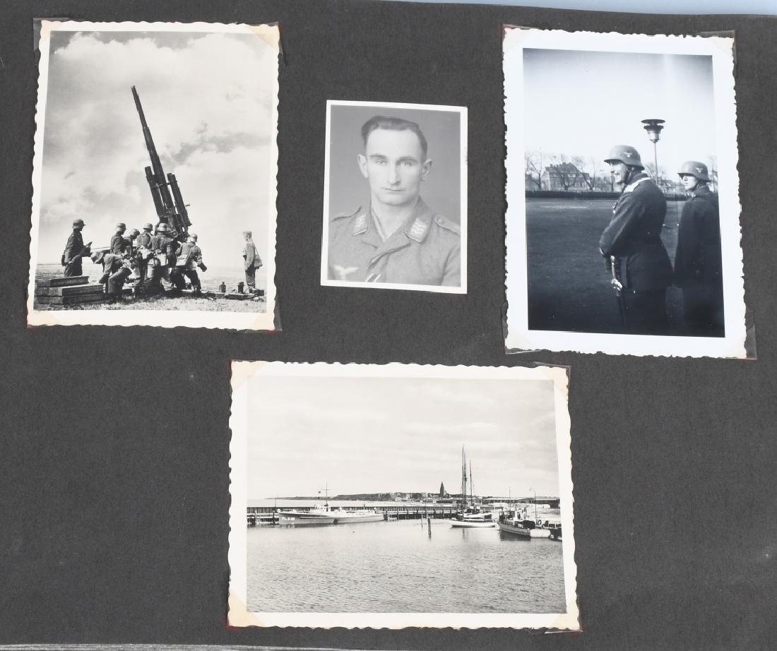 WWII NAZI GERMAN LUFTWAFFE ARTILLERY PHOTO ALBUM - 10