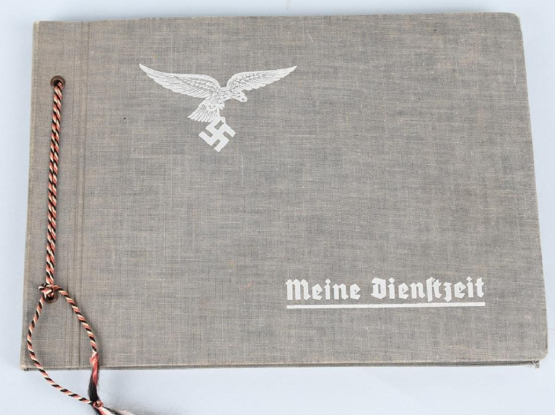 WWII NAZI GERMAN LUFTWAFFE ARTILLERY PHOTO ALBUM